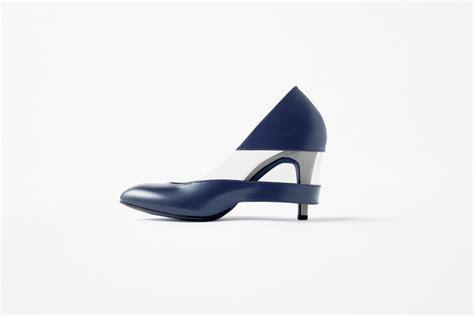 designboom shoes nendo skirt shoes for seibu department store