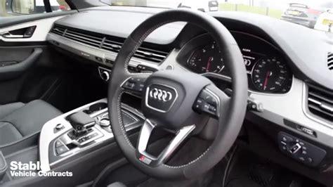 audi jeep interior 2016 audi q7 s line interior walkaround