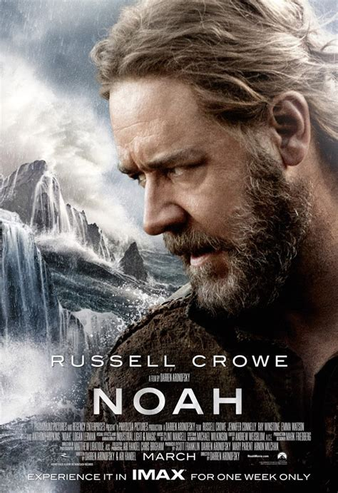 film noah noah 2014 russell crowe movie trailer cast release