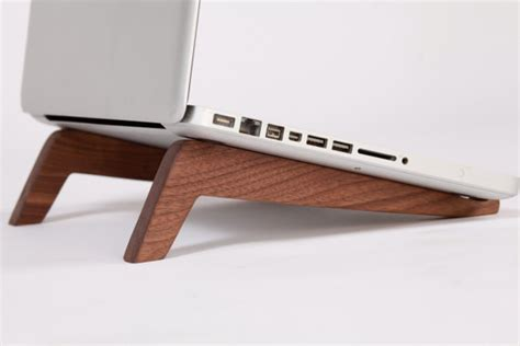 Wooden Computer Desk High Tech Goes Low Tech With These Gorgeous Laptop Stands
