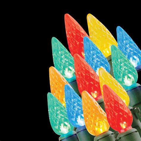 lightshow 12 light led multi color color changing c9 light