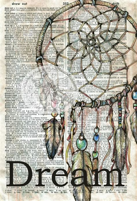 doodle drawing definition dreamcatcher mixed media drawing on collegiate dictionary