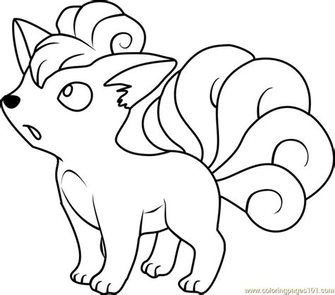 pokemon coloring pages rhyhorn vulpix pokemon coloring page embroidery pinterest