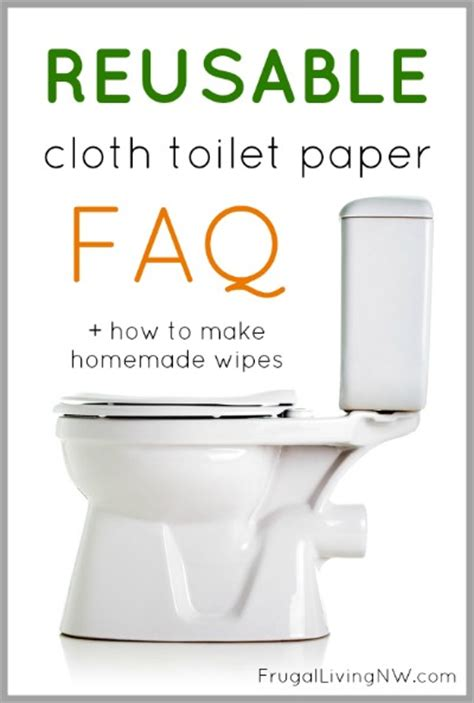 Make Your Own Toilet Paper - reusable cloth toilet paper faqs how to make