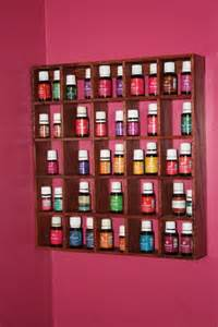 shelf curio essential oils or collectibles wooden wall