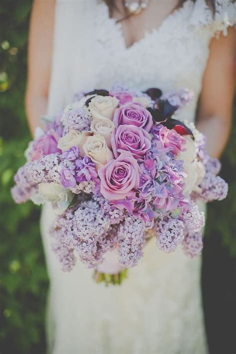Wedding Bouquet Lilac by Lovely Lilac Wedding Inspiration Mon Cheri Bridals