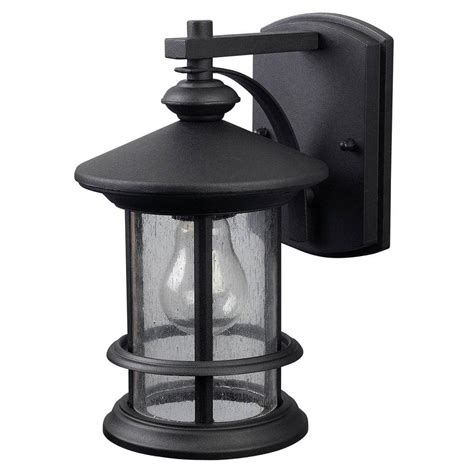Menards Lighting Outdoor Menards Outdoor Lighting Patriot Lighting Black Security Wall Light 2 Pk At Menards Kichler