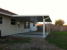 Aluminum Patio Cover by Aluminum Patio Cover And House Gutter In La Porte Tx 187 A 1