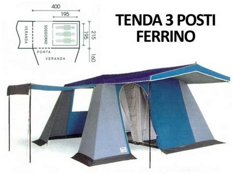 tenda montagna tenda ceggio ferrino saturno 3 cing montagna ebay