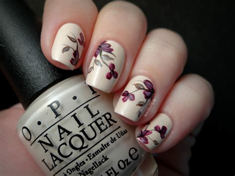 designs to try delicate nail arts for this weekend delicate nude floral nail art by kim nailpolis museum