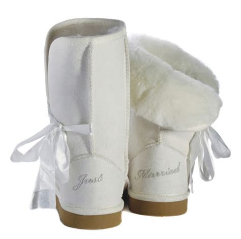 Giveaway Australia - win bridal ugg style boots filled with luxurious australian sheepskin wedding day