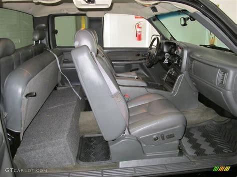 2003 chevrolet silverado 1500 ss extended cab awd interior