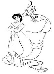 disegno aladdin ed il genio