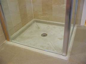 how to make a concrete shower base house to home