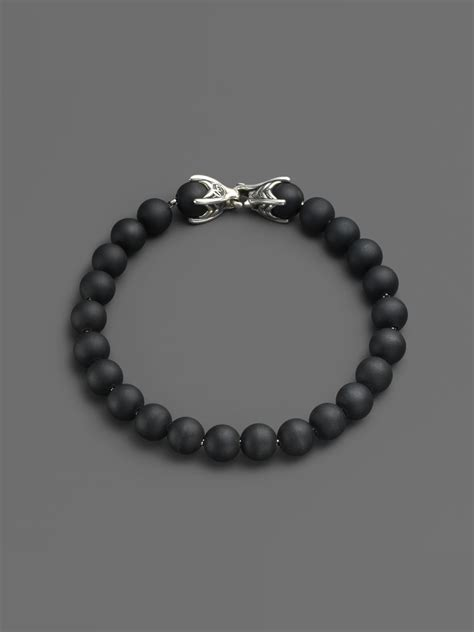 david yurman spiritual bead bracelet david yurman spiritual bead onyx bracelet in black onyx