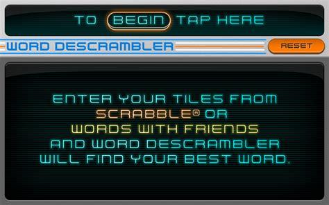 scrabble word descrambler word descrambler lite scrabble assistant word