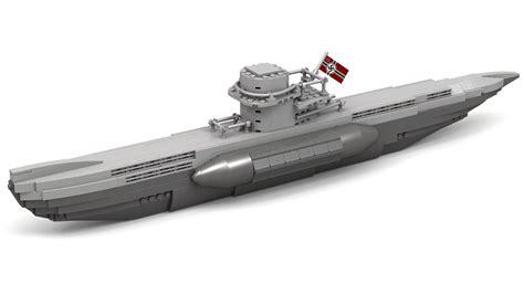 Lego WWII Type VII German U-Boat Instructions - YouTube U Boat