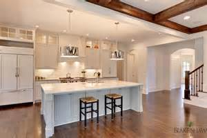 Kitchen Island Overhang by Manor In Brookhaven Shaw Homes Atlanta