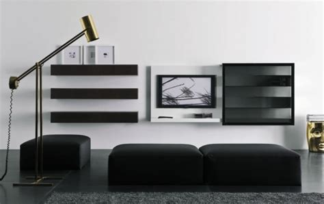 Modern Lacquered Tv Cabinets Spazio Box From Pianca | modern lacquered tv cabinets spazio box from pianca