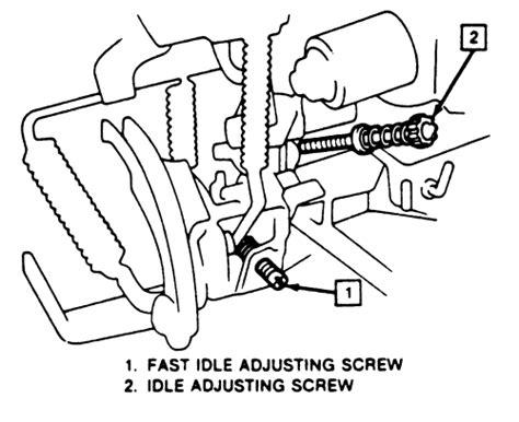 service manual 1993 buick century how do you adjust idle solenoid how do you adjust the idle