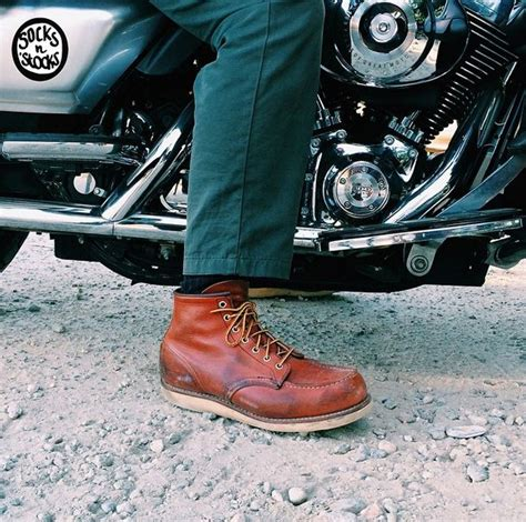 red motorcycle boots 57 best red wing shoes images on pinterest