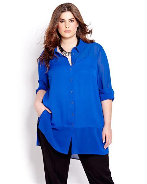 Trista Blouse Jumbo Tunik sleeve chiffon tunic blouse