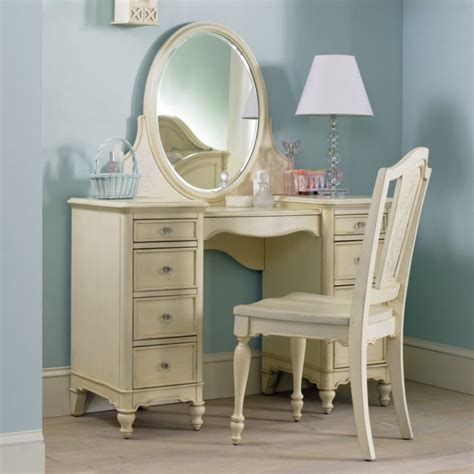 makeup vanity chair dresser and mirror bathroom with