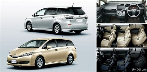 toyota wish bodykit singapore malaysia motoring news toyota wish facelift launched in japan