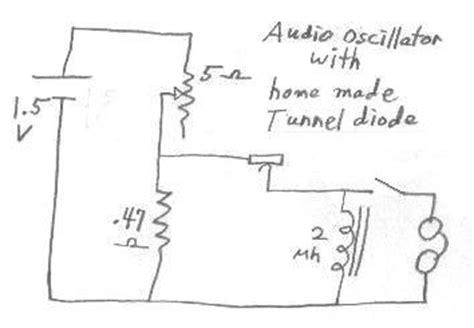 tunnel diode oscillator design tunnel diode negative resistance oscillator 28 images tunnel diode oscillator circuit