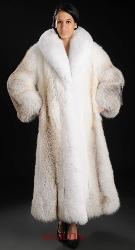 fur coat saga royal golden island shadow length fox fur coat with white fox collar a ebay