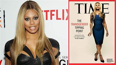 laverne cox is on the cover of time magazine buzzfeed laverne cox of orange is the new black graces cover of