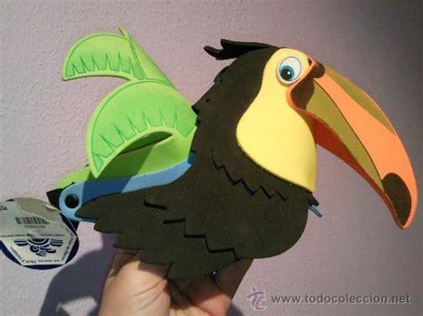 mascaras del tucan visera de tucan en fomy con moldes imagui