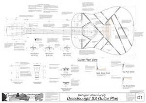 dreadnought ss guitar plans electronic version