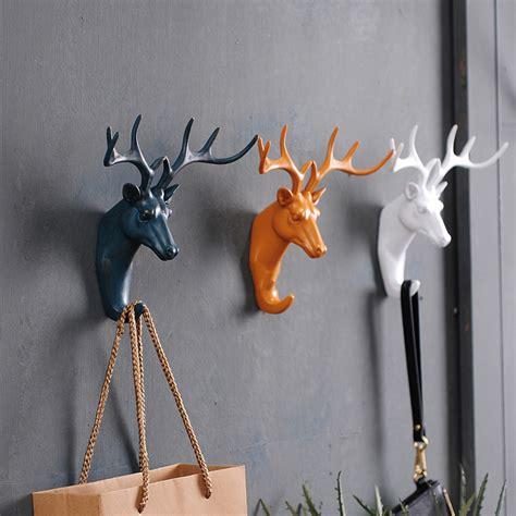 Gantungan Dinding Model Deer Hitam gantungan dinding model deer black