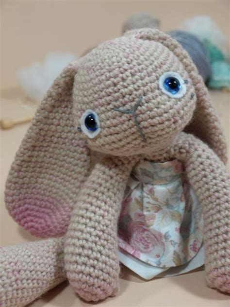 amigurumi pattern bunny mia the amigurumi bunny by dawntoussaint crocheting pattern