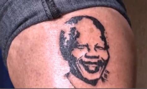 nelson mandela tattoo tattoos mandela quotes on by quotesgram