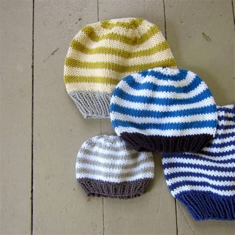 knitted baby boy hat patterns pattern basic hat knitting pattern pdf knitted hat