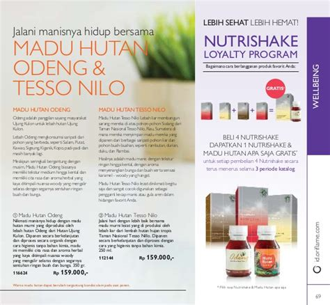 Madu Odeng By Oriflame katalog oriflame september 2016 indonesia