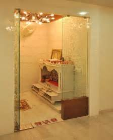 Home Temple Interior Design by Pooja Room Designs In Glass Pooja Room Designs