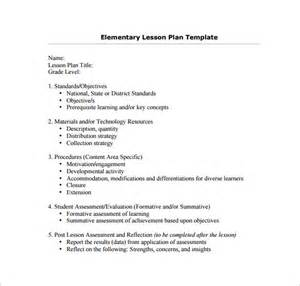 Lesson Preparation Template by Evaluation Plan Template Education Plan Template