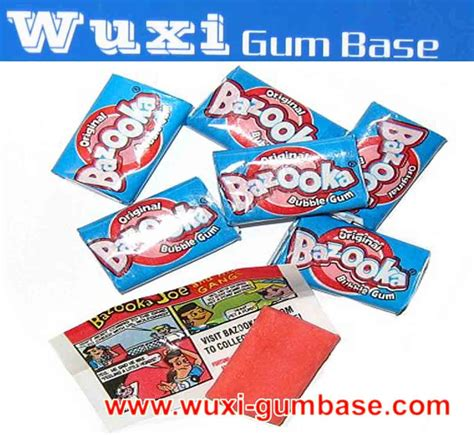 gum tattoo bazooka gum products china bazooka