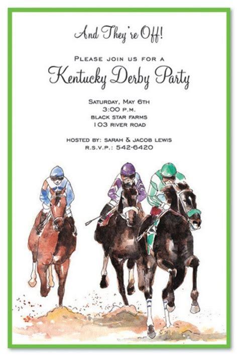horse printable birthday invitations