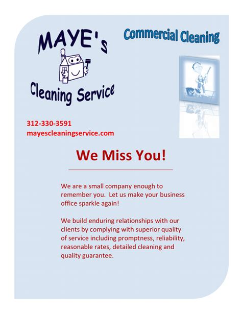 commercial cleaning flyer templates commercial cleaning services flyer