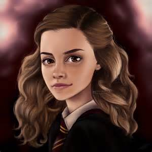 watson as hermione granger by miloutjexdrawing on