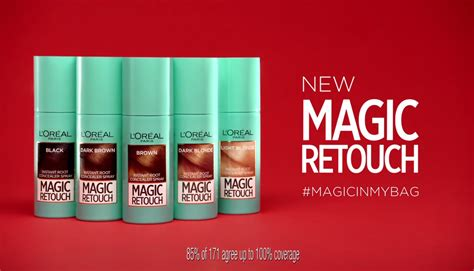 And The Magic L by L Or 233 Al Magic Retouch 3 Seconds To Flawless Roots
