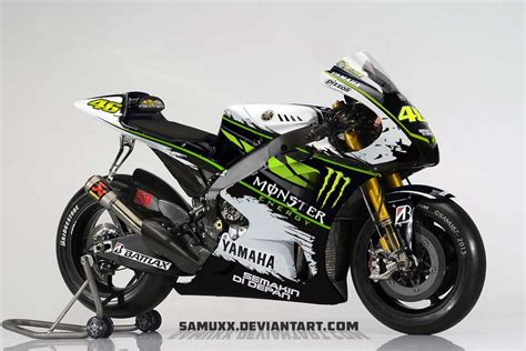 Monster Energy Motorrad by Yamaha Monster Energy 2013 By Samuxx On Deviantart Bikes