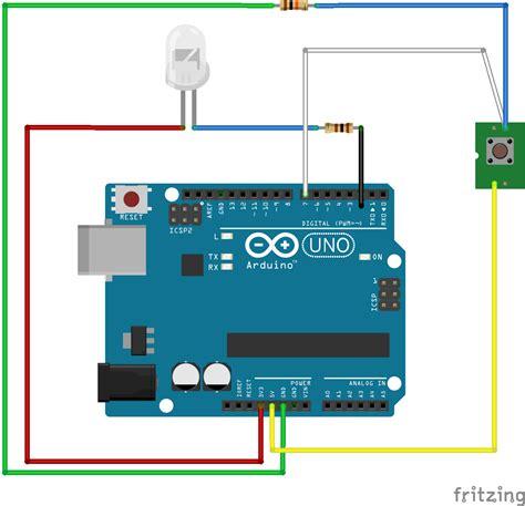 push button wiring diagram arduino efcaviation