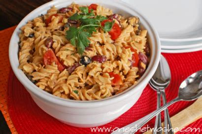 mexican pasta salad a communal table mexican macaroni salad tasty kitchen a happy recipe