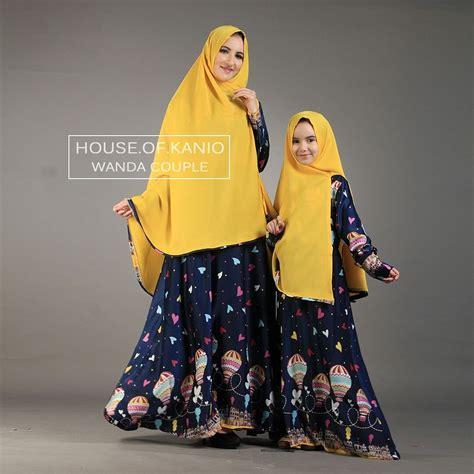 Model Baju Muslim Ibu Dan Anak Perempuan 9 model baju ibu dan anak perempuan terpopuler
