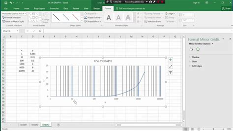 semi log plot on excel youtube ms excel class 9 how to semi log graph plot by ms cxcel